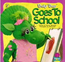 Baby Bop Goes to School (Barney)-ExLibrary