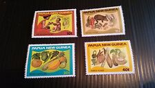 PAPUA NEW GUINEA  1982 SG 434-437 FOOD AND NUTRITION  MNH