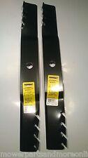 2 x Hardened Predator 42 Inch Cut Murray Lawn Mower Blade - 92419E701, 95101E70