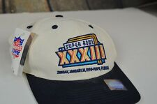 NEW Vintage Logo 7 Superboul XXXIII Snap Back Hat Cap Lid Football Game Day Cool