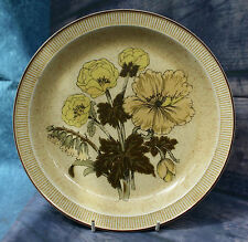 """Poole Pottery Large 10"""" Dinner Plate - Sherwood Pattern Very Good Condition"""