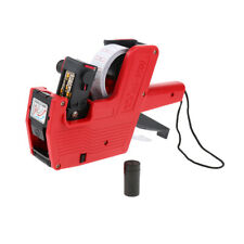 MX-5500, 8 Digits Price Tag Gun Price Labeller 21*12mm Multi-Currency - Red
