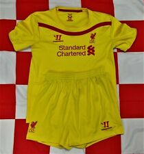 Liverpool 2014-2015 Official Warrior Football Shirt & Shorts (Youths 6-7 Years)