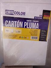 Lamina de carton pluma para manualidades de tamaño A4 29,7 x 21cm y 5 mm grosor