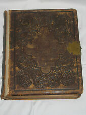 HARDINGS ROYAL EDITION HOLY BIBLE 1868 WILLIAM W HARDING 150+ YEARS OLD! *READ*