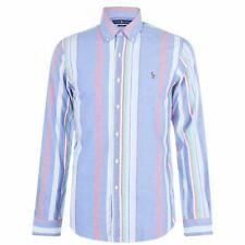 Ralph Lauren POLO Men's  Classic Fit Button Down Oxford Shirt  BLUE Stripes