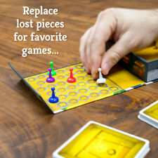 Replace Lost Game Pieces - 12 x 2.25 cm Game Pieces Tokens - Australia only