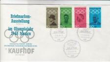 Germany 1968 Mexico olympic stamp exhibition  stamps cover R20587