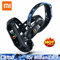 For Xiaomi Mi Band 4 3 Sport Replace Silicone Wrist Watch Band Strap Bracelet Bs