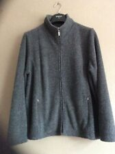 DASH grey Fleece Size 16 Good Clean Condition. Front Zip And Pockets Casual