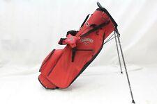 New Callaway Golf Hyper-Lite HL Zero Stand Carry bag - Red Black