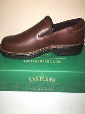 Eastland Women's Newport Slip-on Shoes Brown 7.5 Wide/EUR 38