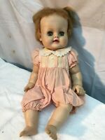 1960 Madame Alexander Doll with Eyes that Open & Shut 14in