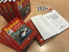 Signed Jim Redman 6 x World Motorcycling Race Champion Autobiography Autographed