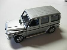 1:24 SCALE WELLY MERCEDES-BENZ G-CLASS V-8 DIECAST TRUCK W/O BOX