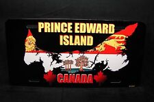 PRINCE EDWARD ISLAND FLAG CAR LICENSE PLATE ÎLE-DU-PRINCE-ÉDOUARD