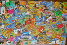 At least 200 UK phonecards from the 1990's and 2000s, scratch or PIN cards