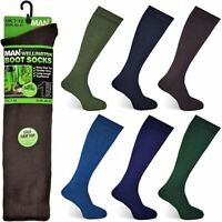 ONE PAIR MENS WELLINGTON BOOT SOCKS 7-12 .FREE next day 1st class post