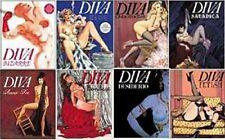 DIVA ed. GLITTERING LOTTO 8 VOLUMI (Bizzarre, Blue, Satanica, Desiderio, Cine..)