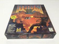 "Doom II: Hell on Earth **id Software** USA IBM PC 3.5"" Big Box Shooter complete"