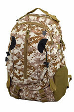 ROOGU Land Turtle * Backpack Men 40l Military Camo Army Tactic Desert Notebook