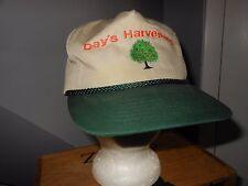 ORANGE GROVE Citrus Grove VISOR HAT Cap DAY'S HARVESTING Work Trabajo FL CALIF