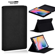 Black Folio Leather Tablet Stand Cover Case For Samsung Galaxy Tab S 2/3/4/5/6/7