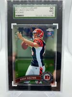2011 Topps Chrome Andy Dalton #51 Ball in Hand RC Rookie Card 9 MINT SGC 96