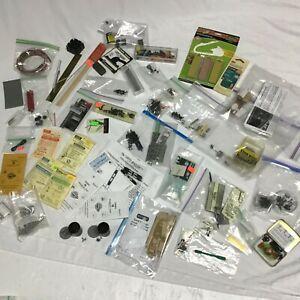 Miniature N Scale Train Hobbyist Mixed Lot (Parts, Kits, Materials, Tools, etc.)