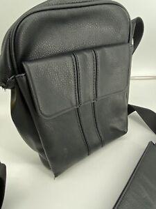 ZARA MAN MESSENGER BAG BLACK