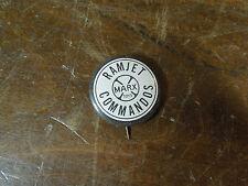 Vintage Ramjet Commandos Marx Toys Button