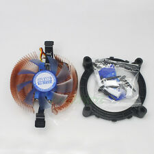 Copper 33mm Slim Ultrathin CPU Cooling Cooler Heatsink Fan For LGA AMD Mini-ITX