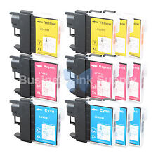 12 COLOR LC61 Ink for Brother MFC-J630W MFC-J615W MFC-J415W MFC-J410W MFC-J270W
