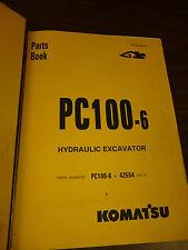 KOMATSU PC100-6 EXCAVATOR Parts MANUAL