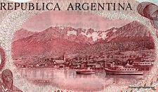 ARGENTINE billet neuf 100 PESOS le celebre port USHUAIA Pick302a SAN MARTIN 1976