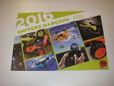 Dossier de presse 2016 MODELCO univers garçon ( voitures, drones )