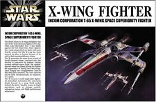 SW-1 Fine Molds 1/72 STARWARS X-Wing Fighter Plastic Model Kit