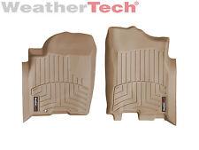 WeatherTech Floor Mats FloorLiner for Nissan Titan King Cab - 2004-2008 - Tan