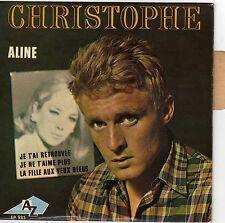 CHRISTOPHE ALINE FRENCH ORIG EP JACQUES DENJEAN
