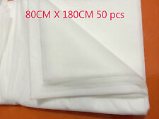 DISPOSABLE BEAUTY BED MASSAGE TABLE COVER SHEET Therapy Waxing Sheets 50 Pcs