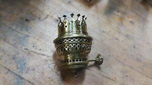 Vintage brass oil lamp burner