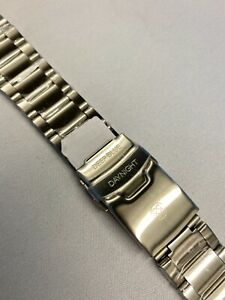 Deep Blue DayNight LINK Metal Steel Watch Band Bracelet Clasp  24mm  no end link