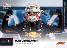 2021 TOPPS NOW FORMULA ONE F1 CARD MAX VERSTAPPEN #4 1st WIN OF THE SEASON