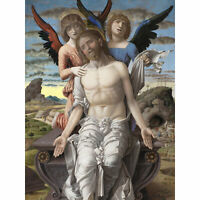 Mantegna Christ Suffering Redeemer Painting Large Wall Art Print 18X24 In