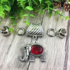 Fashion DIY Necklace Jewelry Scarf Elephant pendant set Charms