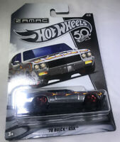 Hot Wheels 2018 50th Anniversary Zamac Series 1970 Buick GSX Rare Vhtf $$