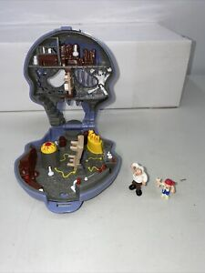 Vintage Mighty Max Skull Dungeon Mini Playset 1992 Blue Bird Toys - Incomplete