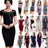 Women Ladies OL Office Formal Business Wear To Work Evening Party Career Dress