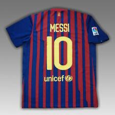 Messi #10 Barcelona 2011 - 2012 Home Football Soccer Shirt Jersey Nike Camiseta