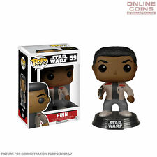 STAR WARS - FINN EPISODE 7 - FUNKO POP VINYL BOBBLE HEAD FIGURE